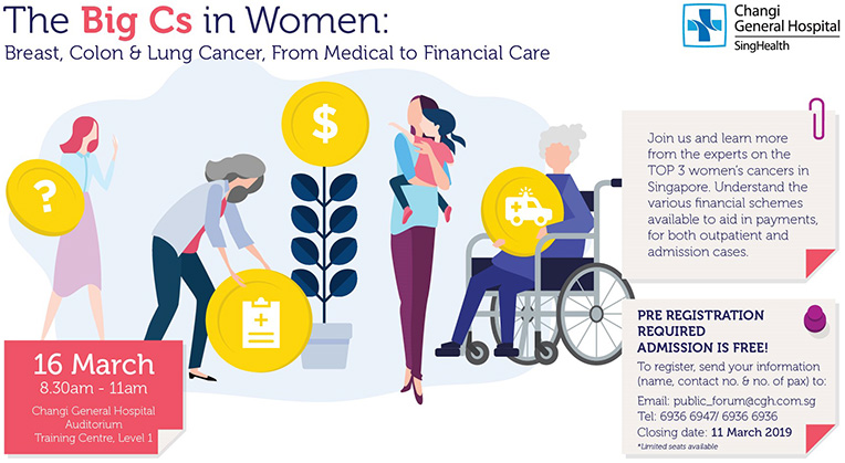 The Big Cs in Women: From Medical to Financial Care