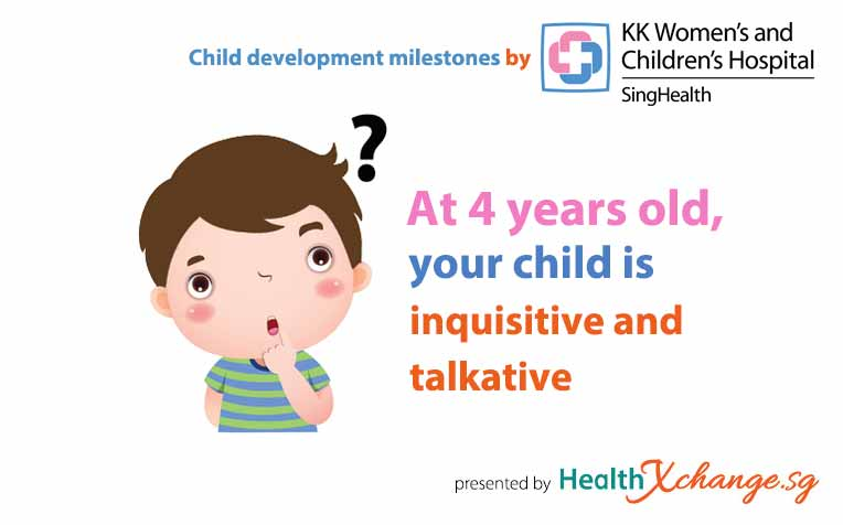 Child Development Milestones: 4 Years Old