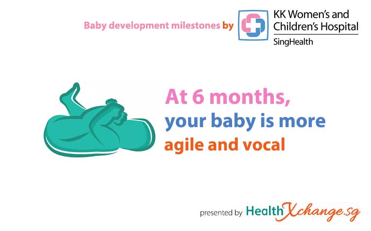 Baby Development Milestones: 6 Months Old