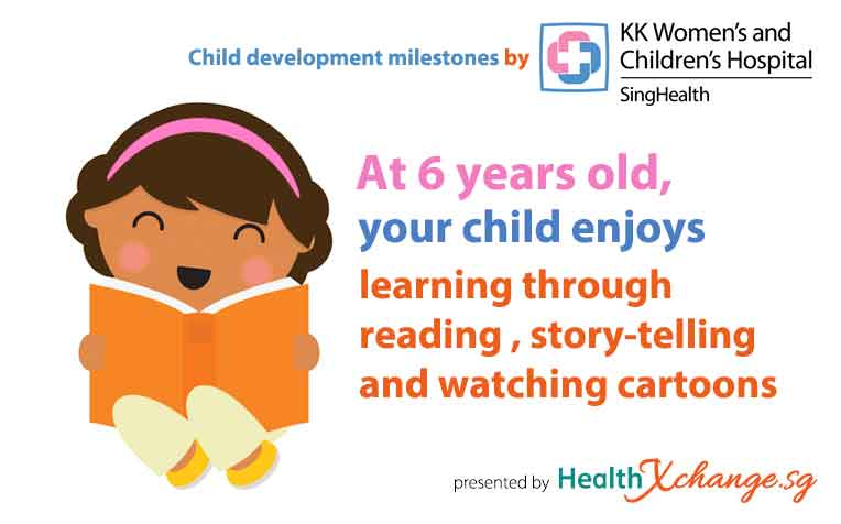 ​Child Development Milestones Sociable Six