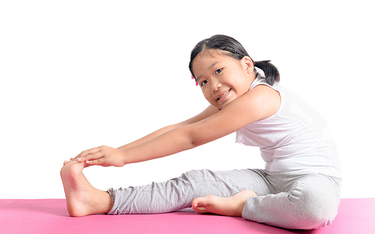 Lower Limb Stretching (Active) Exercises for Children