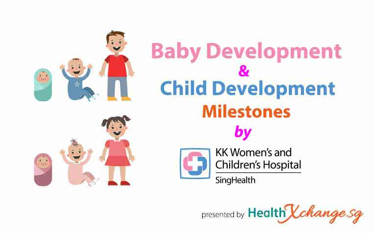 ​Child Development Milestones Newborn to 6