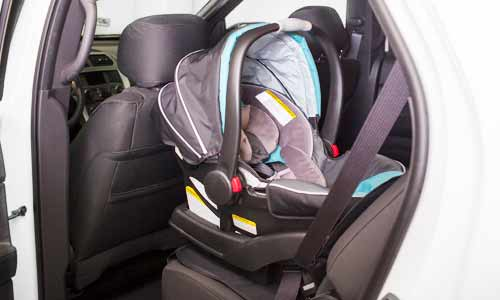 Rear-facing car seat for ages 0 to 2