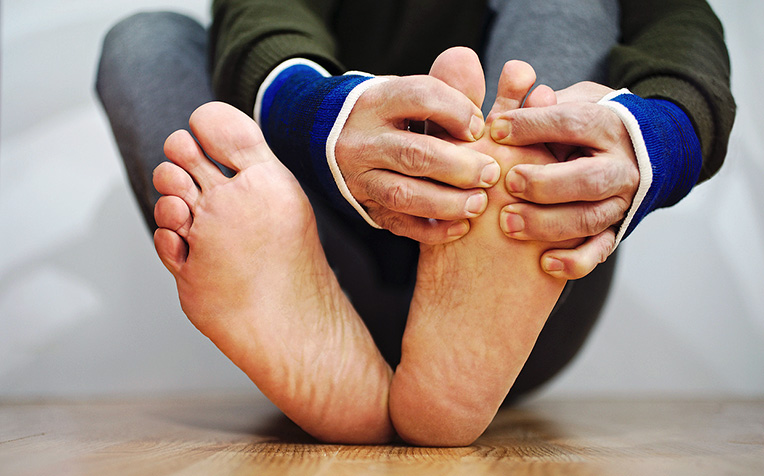 Diabetes Foot Risk Levels