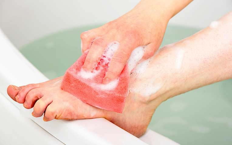 ​How to Maintain Foot Hygiene for Diabetes