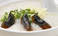 Porridge With Minced Pork & Century Egg