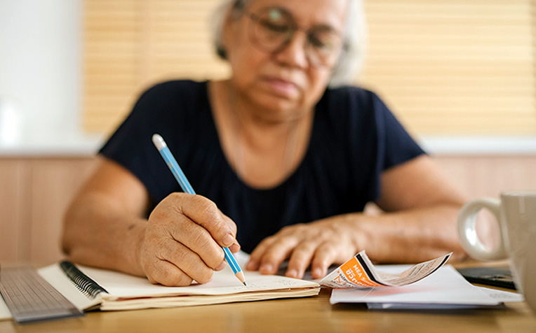 Writing Exercises for Parkinson's