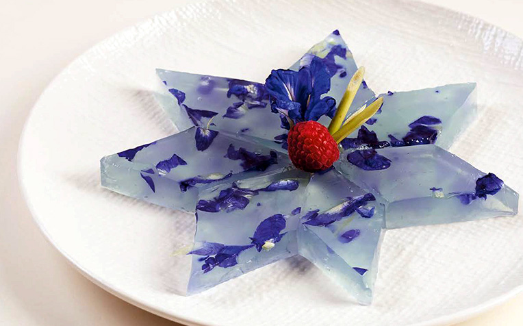 Soft Diet Recipe Series - Blue Pea Lemongrass Jelly
