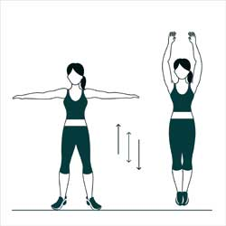 Jumping Jacks: Perfect Ten Minute Workout