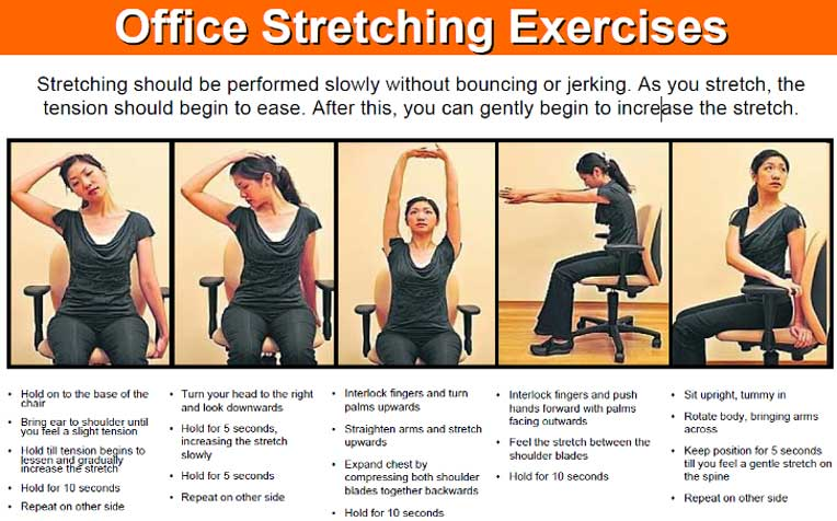 Musculoskeletal Disorders: Body Aches and Pains Common in Office Workers
