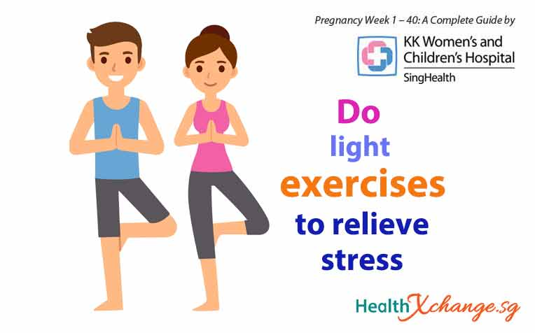 Pregnancy Week 9: Coping with Stress