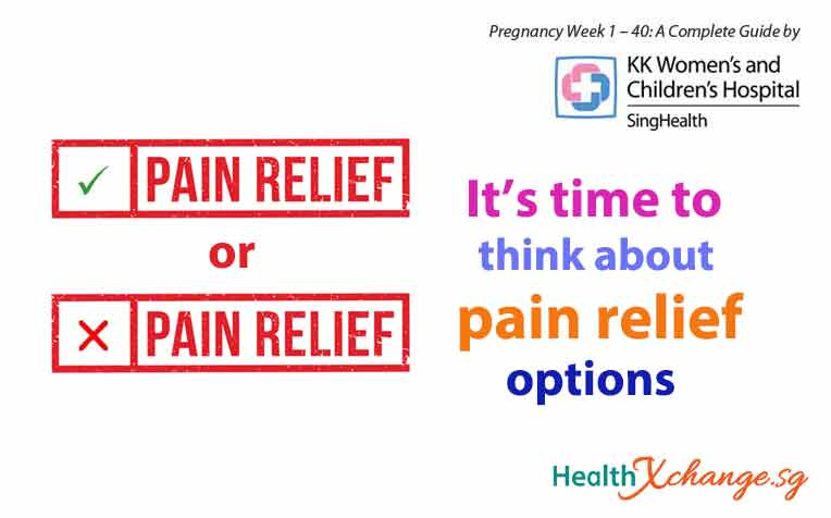 Pregnancy Week 35: Pain Relief Options for Labour