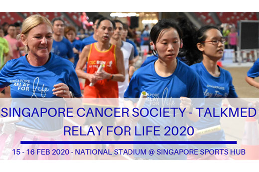 Singapore Cancer Society - TalkMed Relay for Life 2020