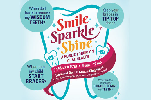 Smile. Sparkle. Shine – A Public Forum on Oral Health