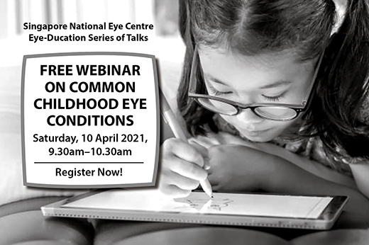 SNEC Common Childhood Eye Conditions Webinar